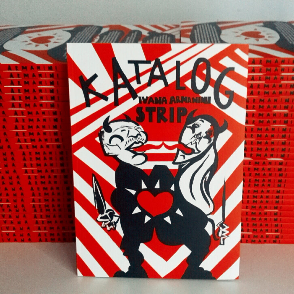 Katalog is solo album, published in Komikaze/ Femicomix edition.
