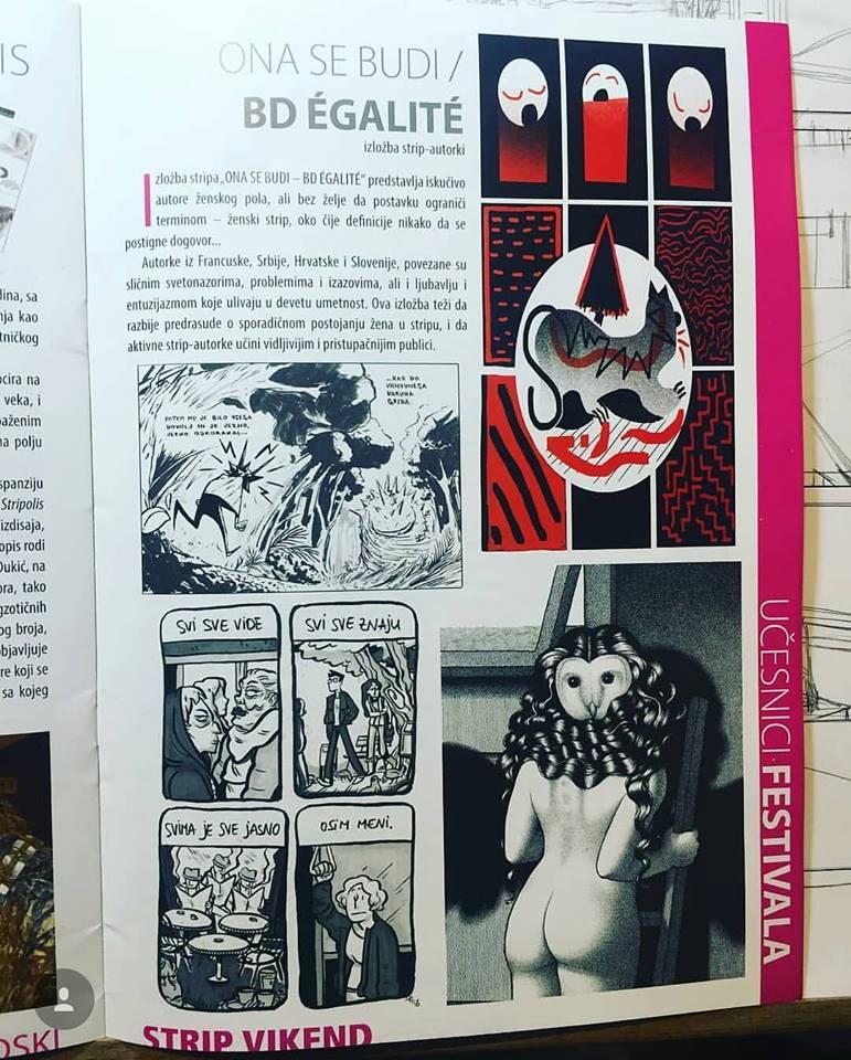 ONA SE BUDI/ BD ÉGALITÉ catalogue