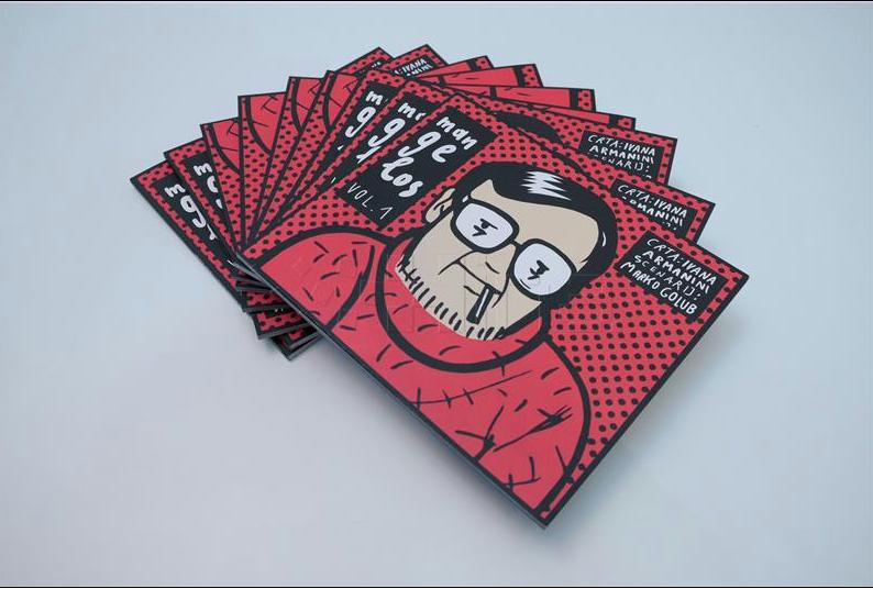 Mangelos Comic Book