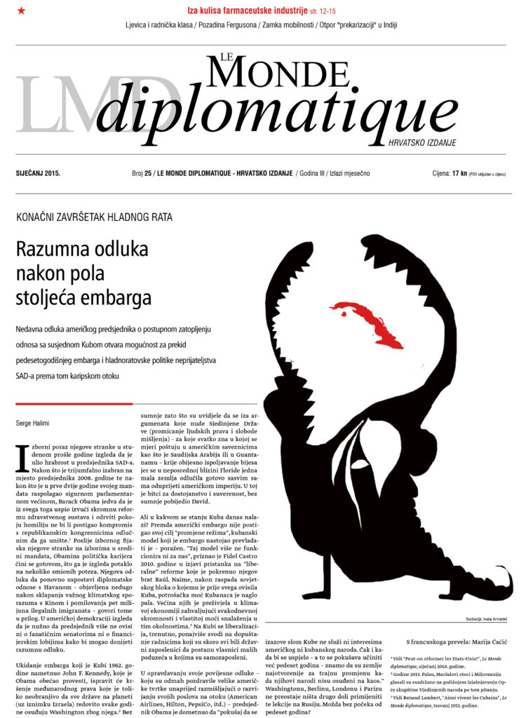 Cuba_Political illustrations for Le Monde Diplomatique