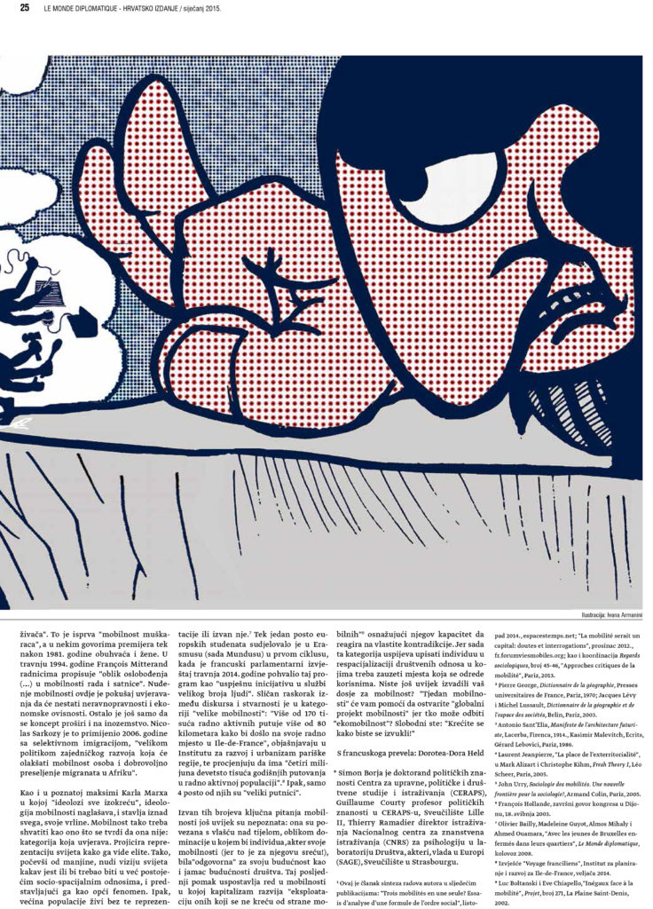 Precariat_Political illustrations for Le Monde Diplomatique