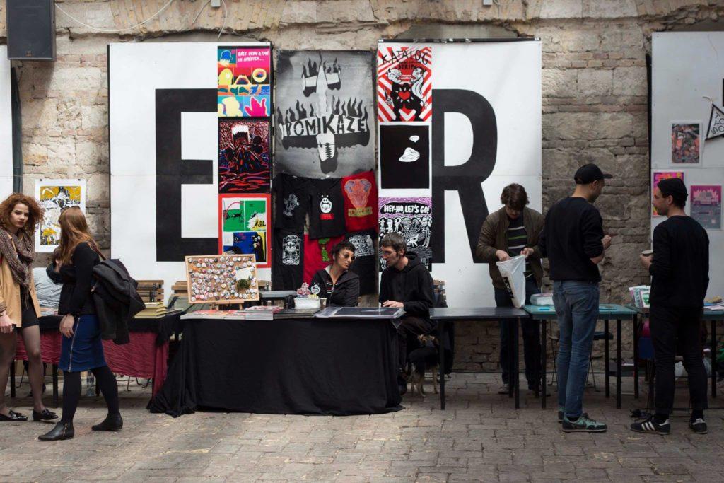 Ukmukfukk - Zine fest at Budapest