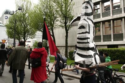 Protest Puppet Ljubljana
