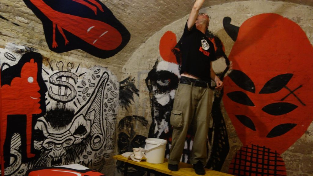 My mural for the 30th birthday of Forte Prenestino in Rome on the 12th Crack festival