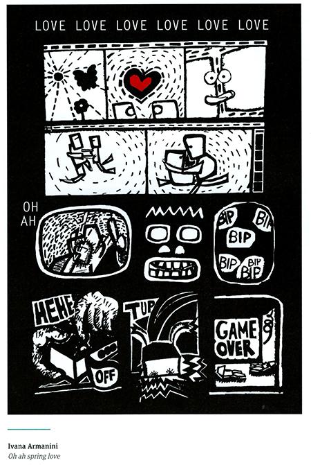 OH AH SPRING LOVE_croatian bienniale illustration