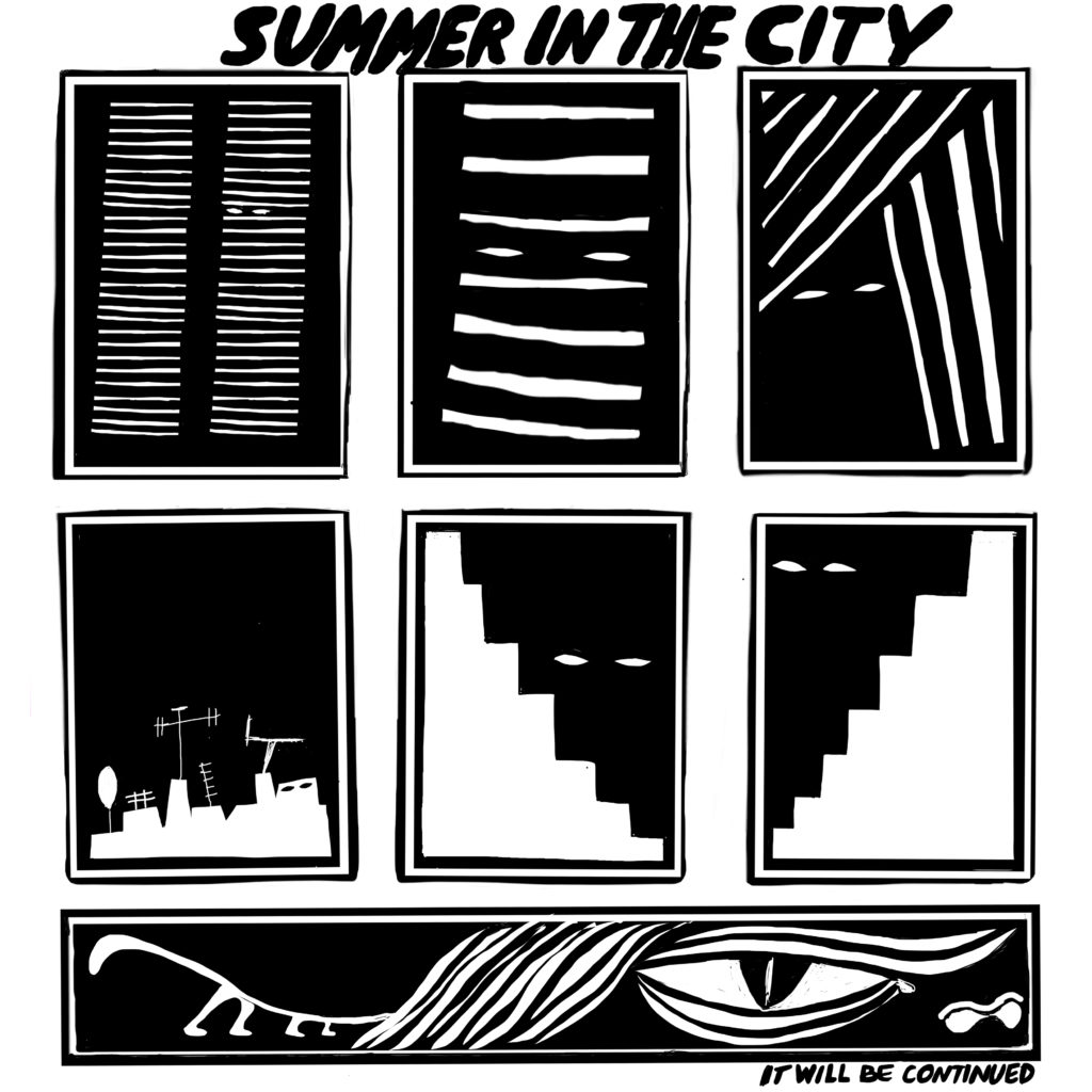 Comic Summer in the city by Ivana Armanini