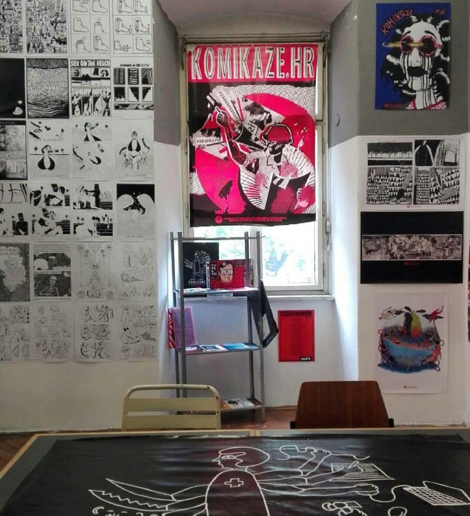 komikaze room @ design district festival