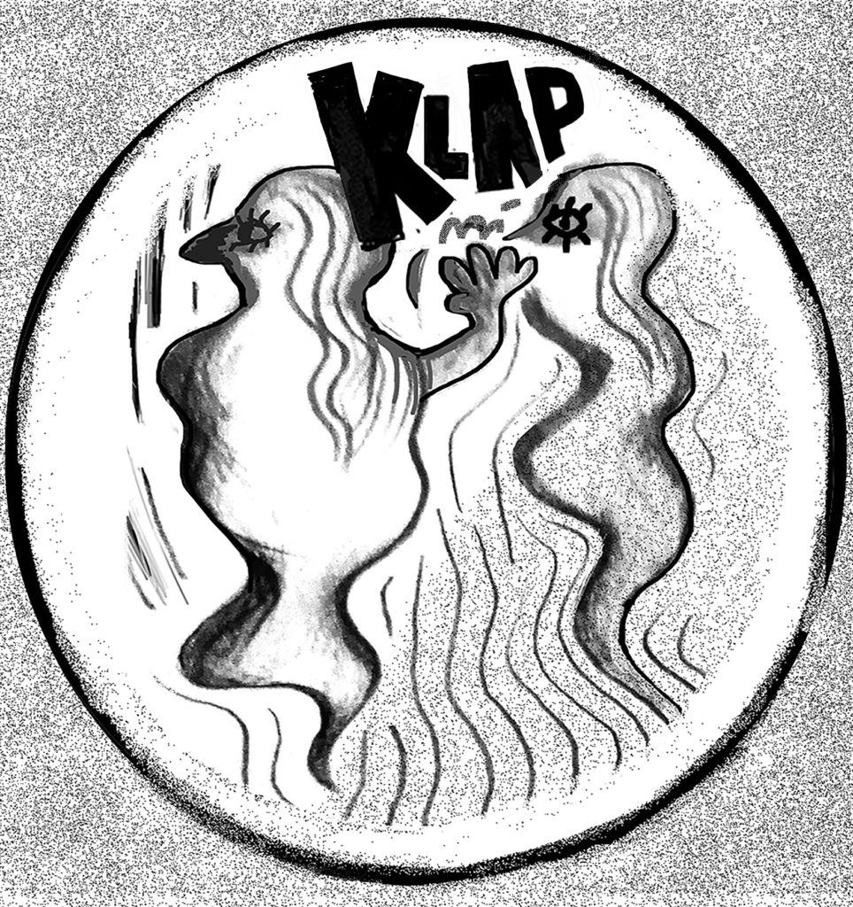 klap - my contribution 02 for Beta Vulgaris #2 / topic: feminism / DIY punk zine from Split