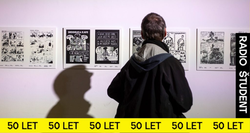GROUP EXHIBITION OF COMIX ON JINGLES BY RŠ