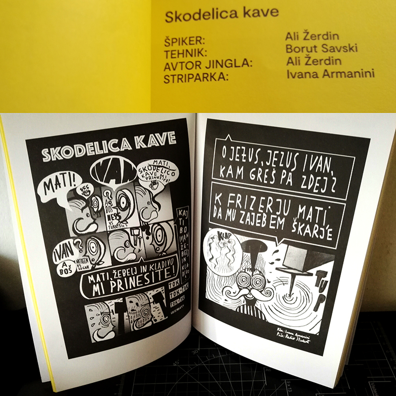 catalogue of comix on jingles by RŠ