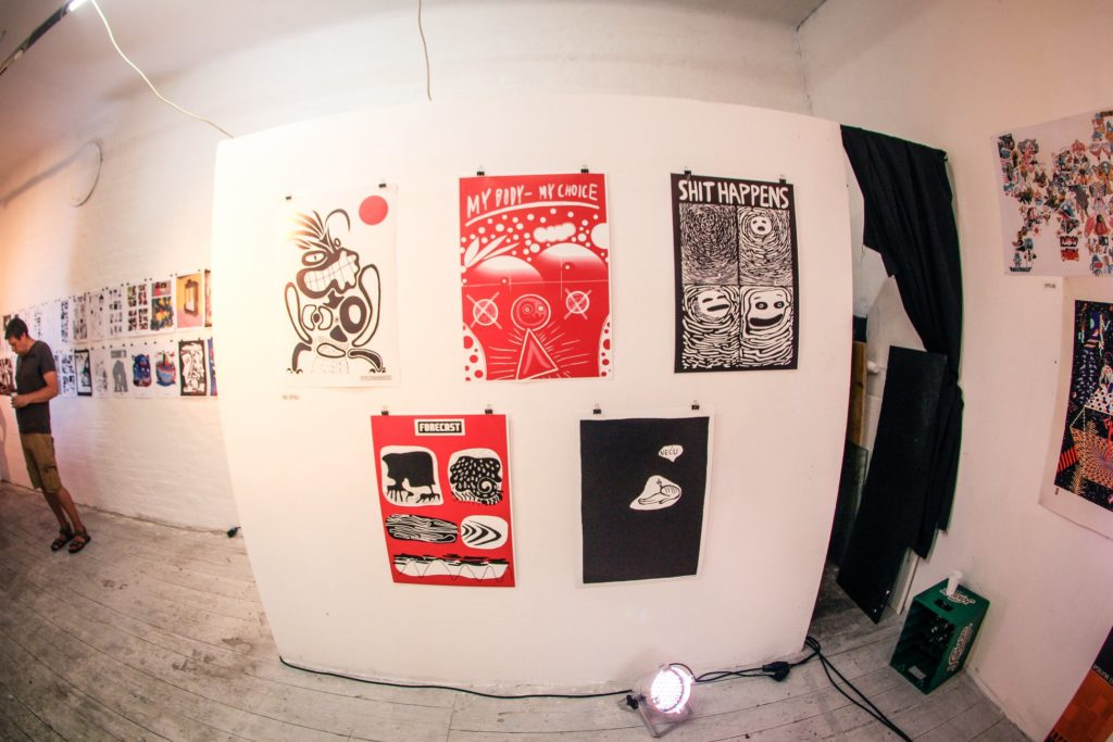 5 posters @ OHOHO festival_photo by joza