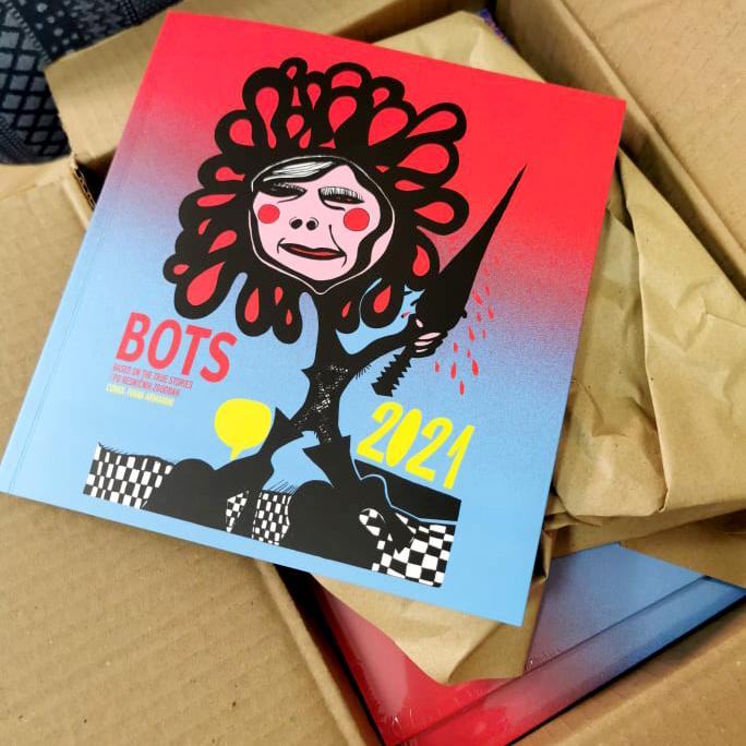 bots comic book